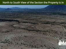 North to South View of the Section the P