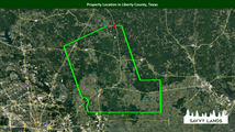 Property Location in Liberty County, Tex