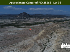 Approximate Center of PID 35266 - Lot 36