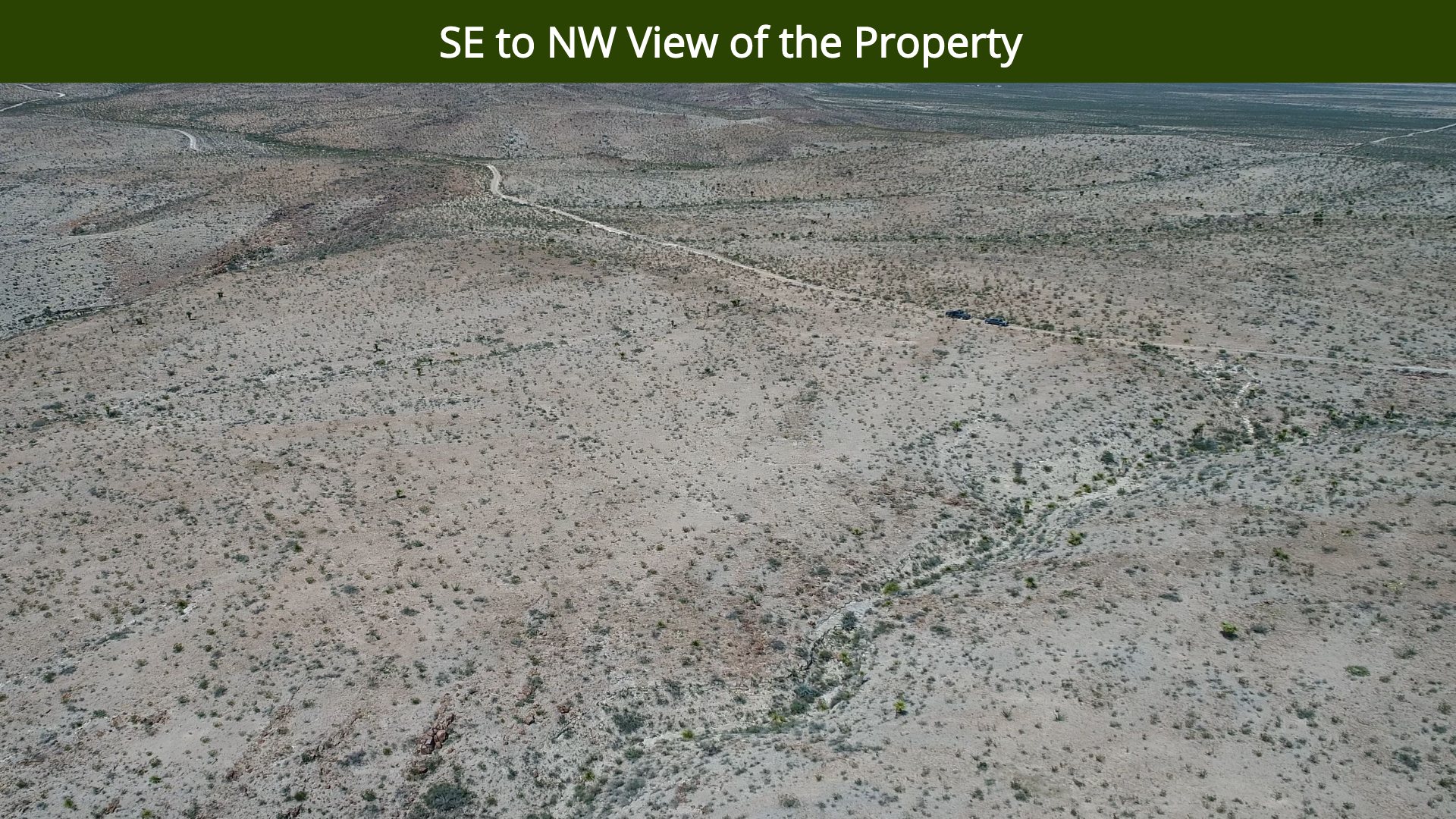 SE to NW View of the Property