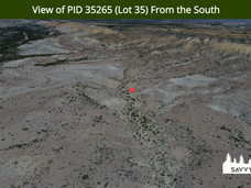 View of PID 35265 (Lot 35) From the Sout
