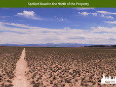Sanford Road to the North of the Propert