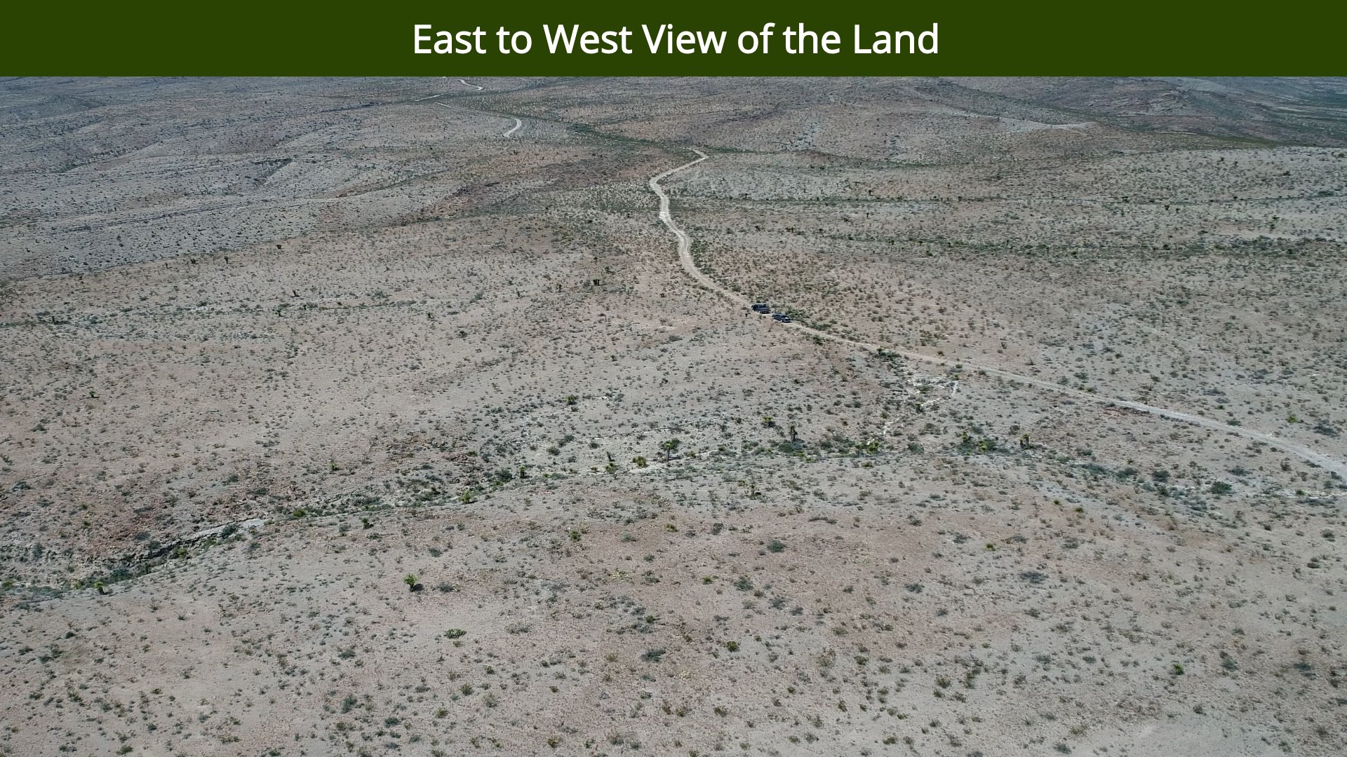 East to West View of the Land