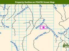 Property Outline on POATRI Street Map.jp