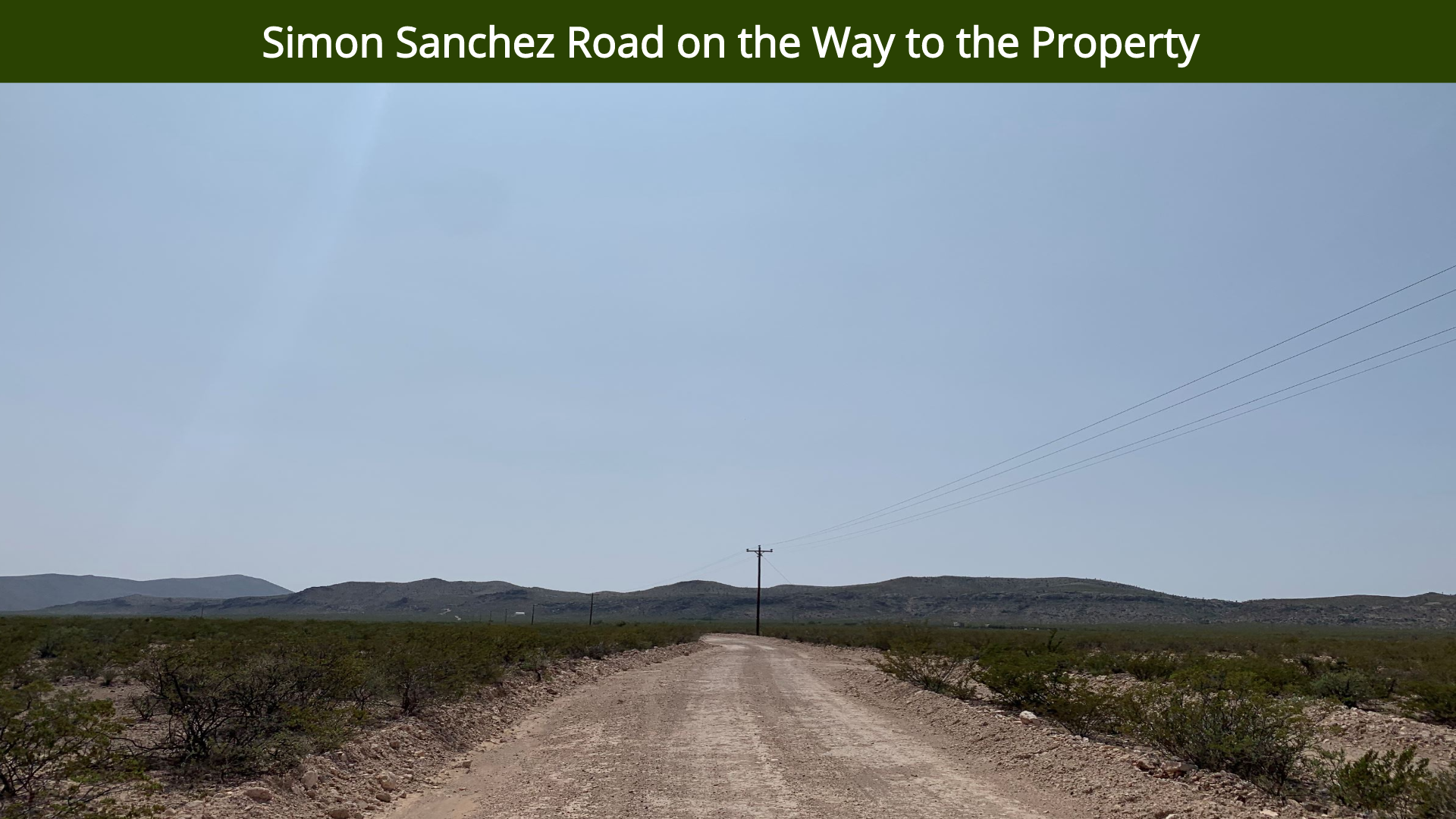 Simon Sanchez Road on the Way to the Pro