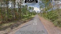 County Road 2145 Going into Neighborhood