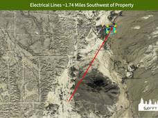 Electrical Lines ~1.74 Miles Southwest o