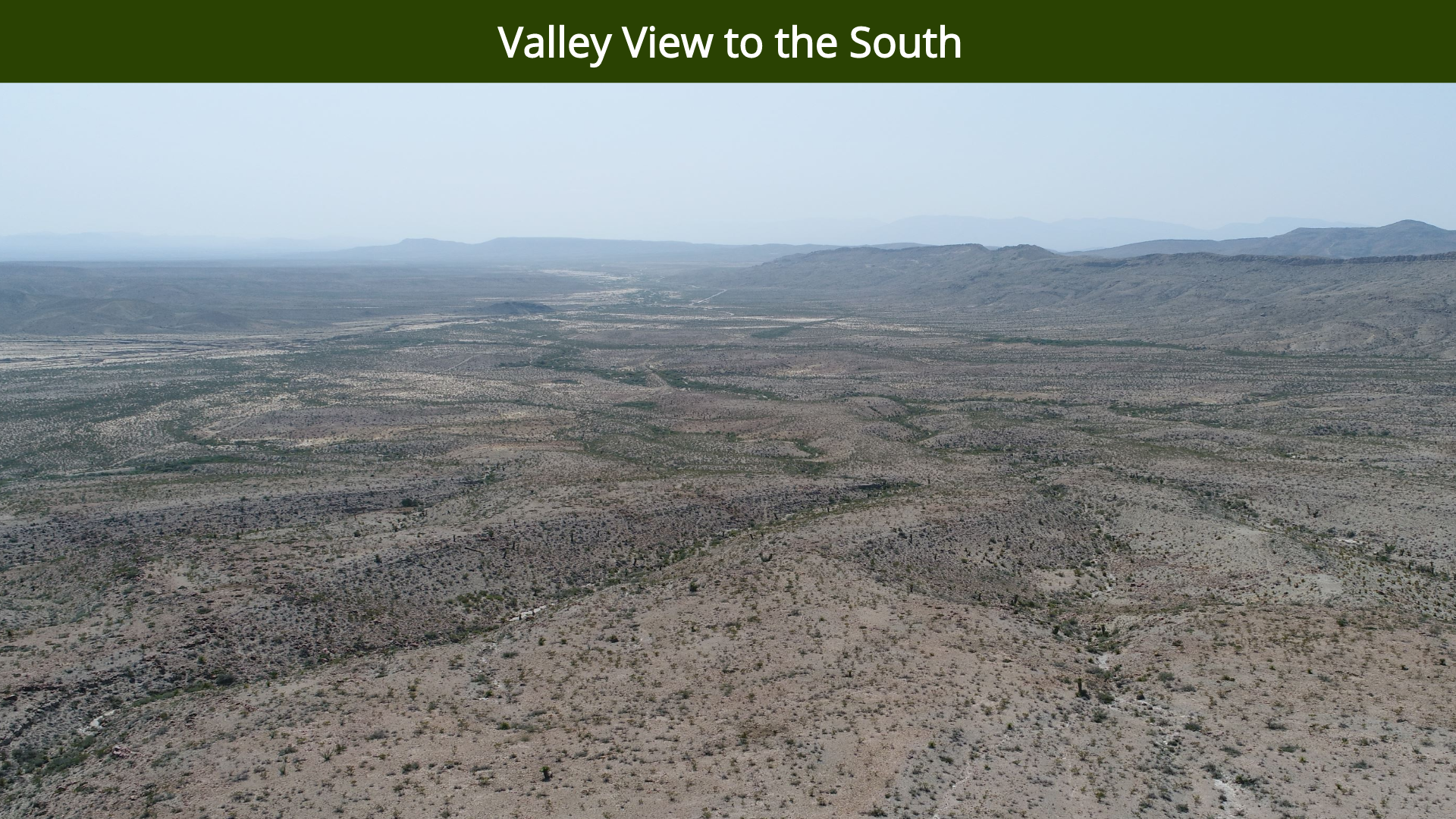 Valley View to the South