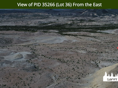 View of PID 35266 (Lot 36) From the East