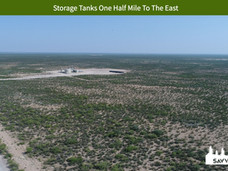 Storage Tanks One Half Mile To The East.