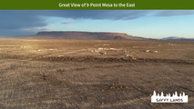 Great View of 9-Point Mesa to the East.j