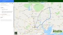 Houston Texas is 75 Miles to the Southwe