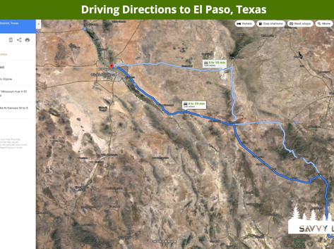Driving Directions to El Paso, Texas.jpe
