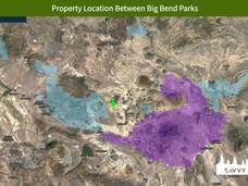 Property Location Between Big Bend Parks