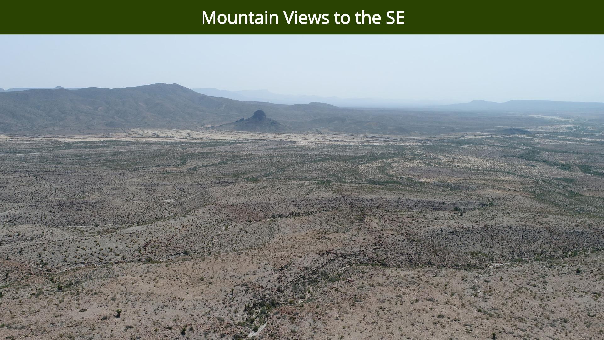 Mountain Views to the SE