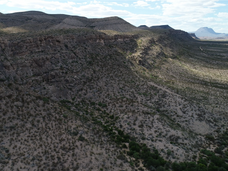 Mountain Ridge to the West of the Proper