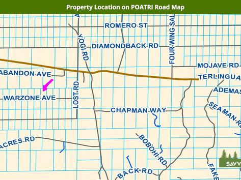 Property Location on POATRI Road Map.jpe