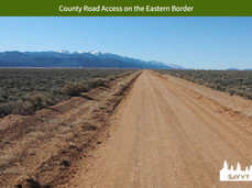 County Road Access on the Eastern Border