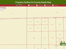Property Outline On County Roads Map.jpe