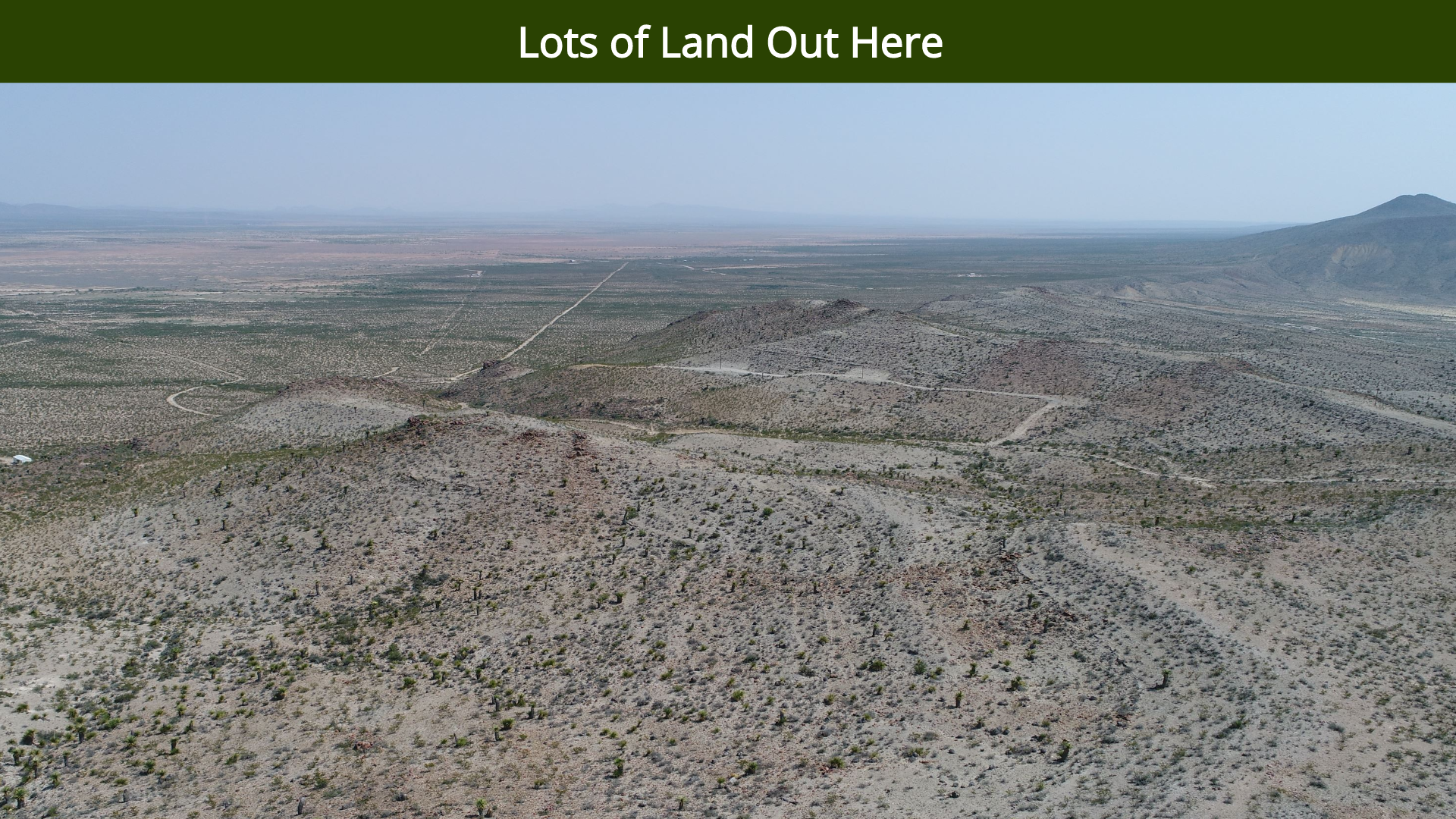 Lots of Land Out Here