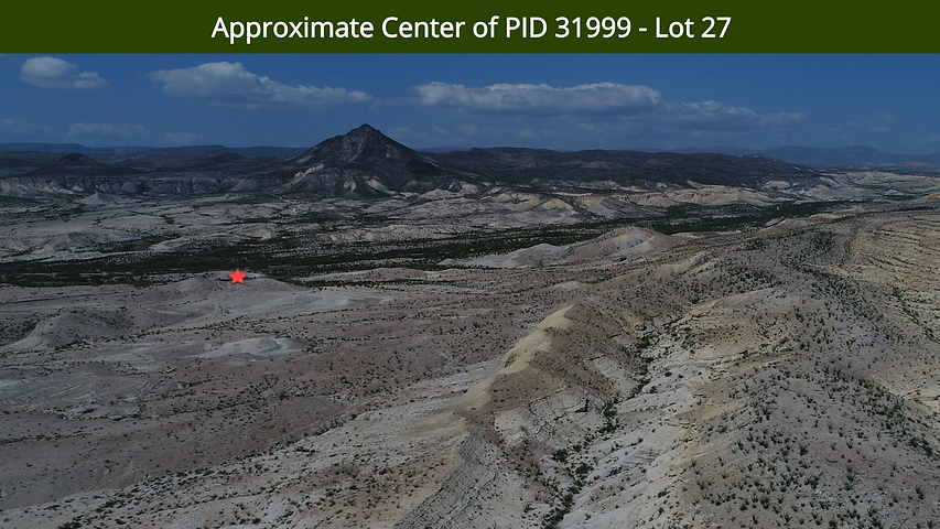 Approximate Center of PID 31999 - Lot 27
