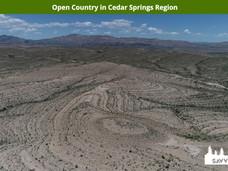Open Country in Cedar Springs Region.jpe