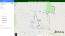 Dallardsville Texas is 31 Miles to the N
