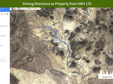 Driving Directions to Property from HWY