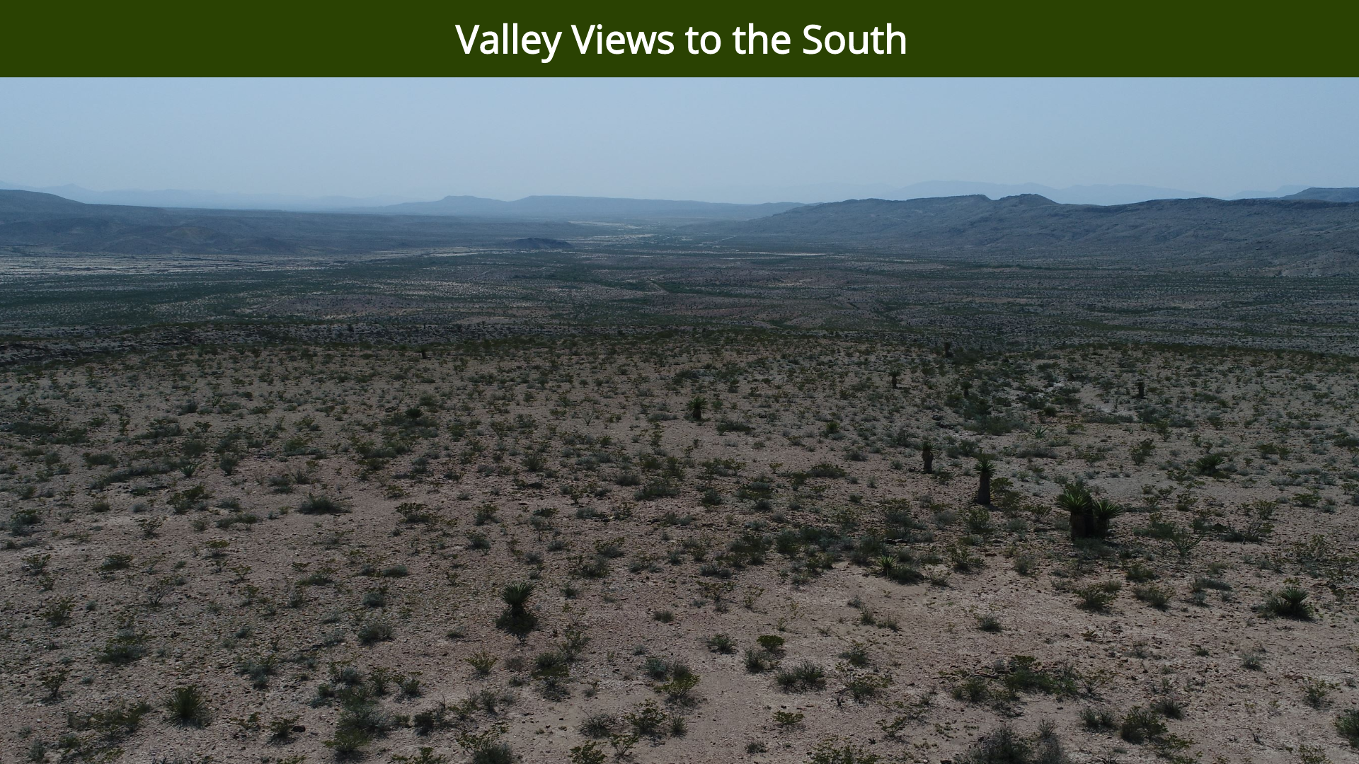 Valley Views to the South