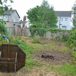 Garden Before - Jardin Antes