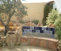 Garden Bench - Banco en jardin