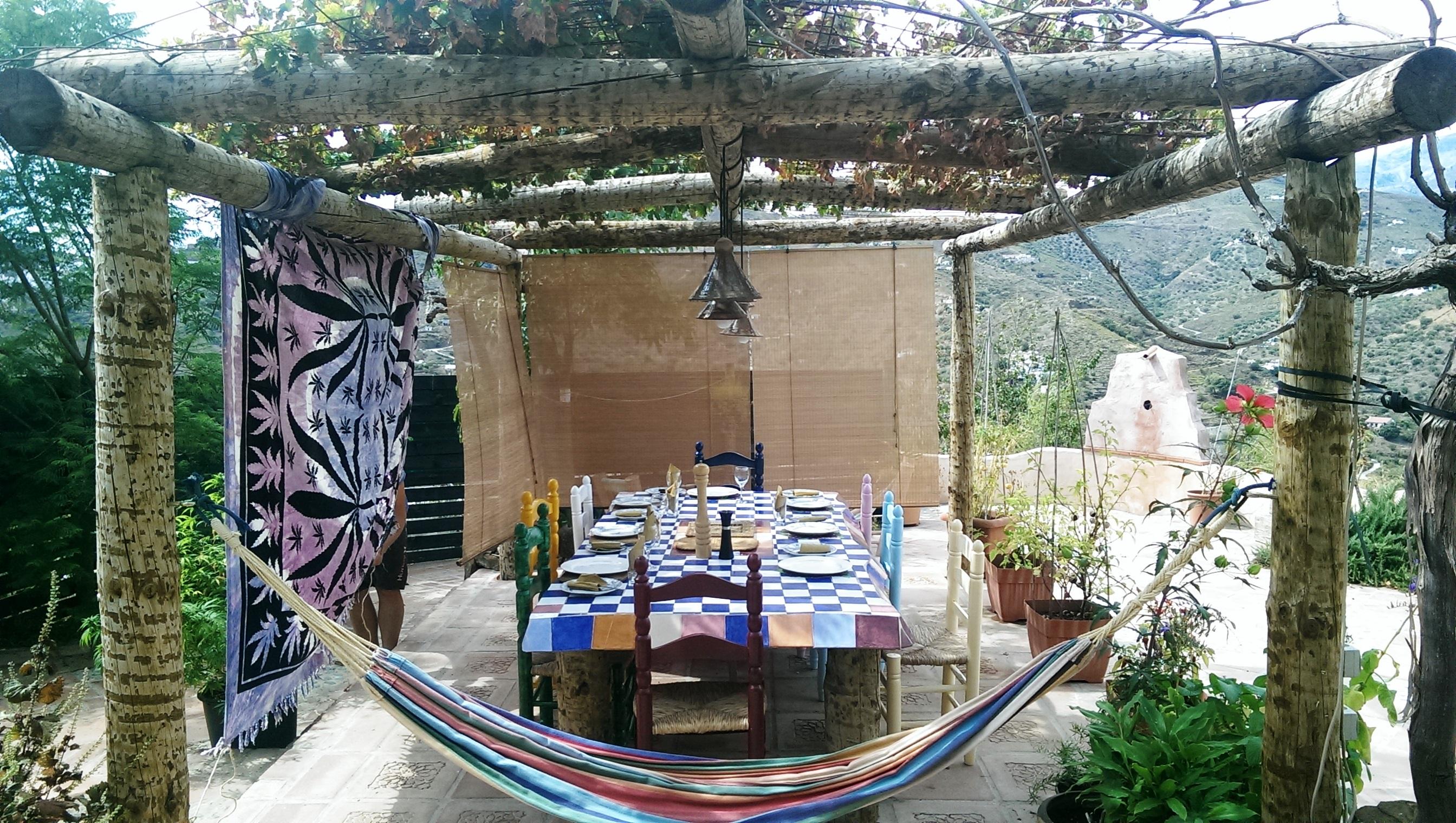 Pergola & Table - Pergola y mesa