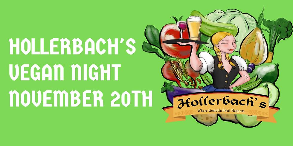 Hollerbach's Vegan Night