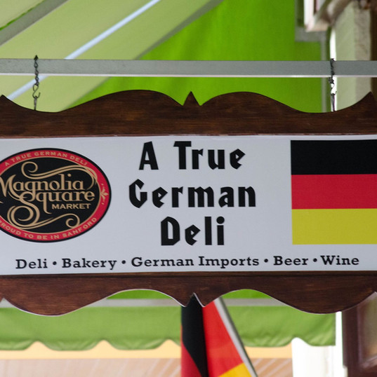 In 2011, we opened Magnolia Square Market German Deli