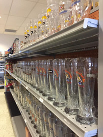 And the glassware to put it in