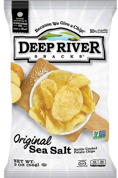 10 Bags of Deep River Kettle Chips