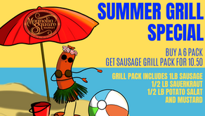 Summer Grillin' is the Wurst...