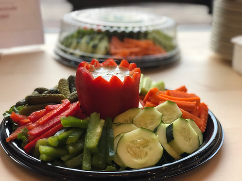 Grüne Soße Garden Teller