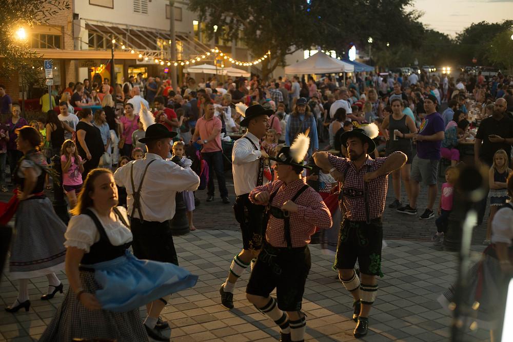 Hollerbach's Downtown Sanford Oktoberfest