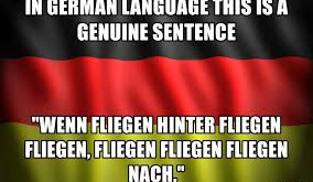 Deutsch is Fliegen tough...