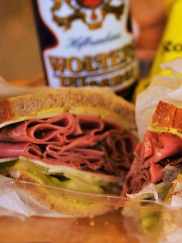 Stop in for a sandwich and a beer :)