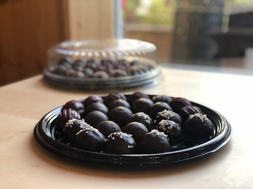 Chocolate Cakeball Teller