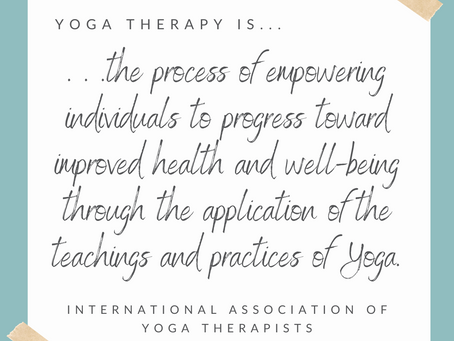 What is Yoga Therapy and Why do I need it in my life?