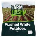 Farm Fresh Washed White Potatoes 2kg