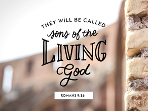 Week of October 18: WHO, will He call His Own?