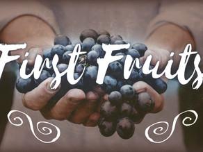 First Fruit Fast: November 1st - November 7th, 2020