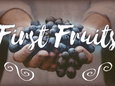 Week of November 29th First Fruit Fast
