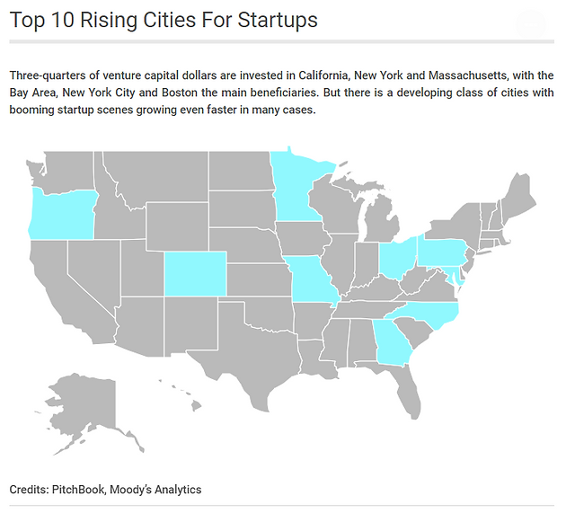 The Top 10 Rising Cities For Startups Cargill Hopkins Campus Map on er hopkins map, hopkins organizational chart, hopkins state map, hopkins university, johns hopkins map, hopkins hospital map, hopkins library hours, jhh map, jhu map,