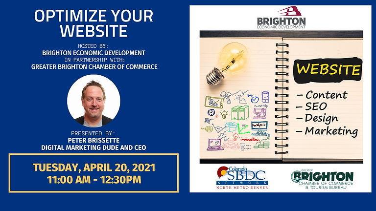 Optimize Your Website with Peter Brisset