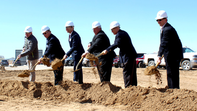 Hyde Development & Mortenson Break Ground at 76 Commerce Center